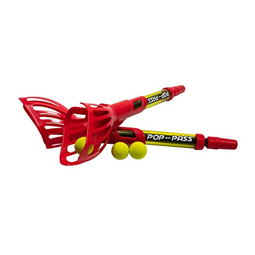 Hog Wild - Pop & Pass | Launch & Catch Outdoor Game Set | Includes 2 Launchers & 3 Balls | Award-Winning Active Play for Kids Ages 6 & Up
