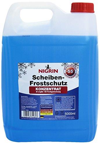 Nigrin 74485 Scheibenfrostschutz, 55°C, 5 Liter