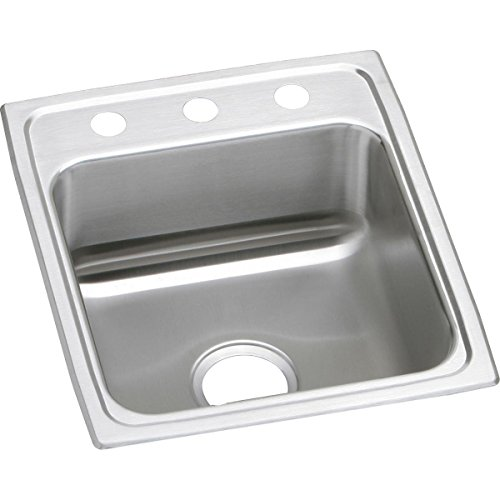 Elkay Lustertone Classic LR17203 Single Bowl Drop-in Stainle