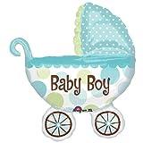 Baby Boy Buggy Shower Balloon Super Shape, Health Care Stuffs