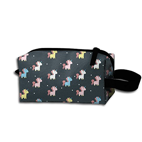 Price comparison product image Create Magic Unicorn Small Carrying Storage Pouch Case Bags Waterproof Multi-purpose Storage Tote Tools Bag Cosmetic Bags With Zipper And Hanging Loop