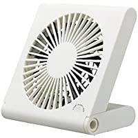 DOSHISHA Slim Compact Fan PIERIA FSS-106U-WH (White)【Japan Domestic genuine products】
