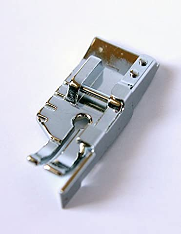 Quarter Inch Quilting Foot with Guide Sewing Machine Presser Foot - Fits All Low Shank Snap-On Singer*, Brother, Babylock, Euro-Pro, Janome, Kenmore, White and - Euro Pro Sewing