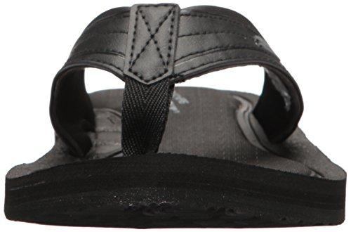 Nero Uomo Infradito Skechers Black Tocker FpaOwq