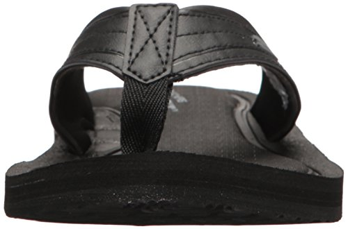 Uomo Tocker Nero Black Infradito Skechers SB0EFnvWcv