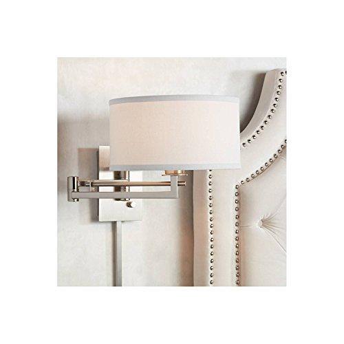Possini Euro Aluno Plug-in Style Swing Arm Wall Lamp - Possini Euro Design