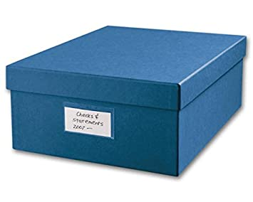 Superieur Amazon.com : EGP Cancelled Checks Storage Box : Storage File Boxes : Office  Products