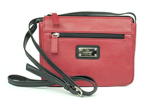 West Bag Mini Nine Mini (Nine West Danni Mini Cross Body (Red))