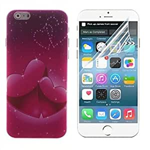 ZXSPACE Mutual Affinity Design Hard With Screen Protector Cover for iPhone 6