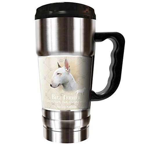 Bull Terrier Mug (Howard Robinson - Bull Terrier 20oz Vacuum Insulated Travel Mug)