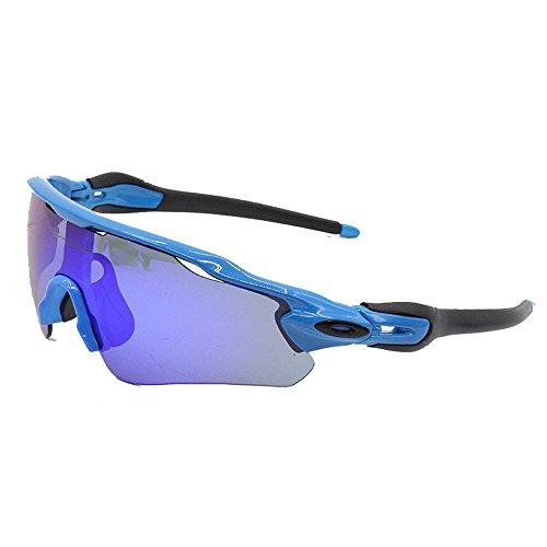 ZoliTime Gafas de Sol Oakley Radar EV Path para Hombre Gafas de Ciclismo ddedf7a49ca1