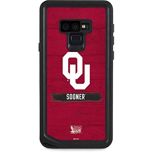 Skinit University of Oklahoma Galaxy Note 9 Waterproof Case - Oklahoma Sooners Design - Sweat-Proof, Snow-Proof, Dirt-Proof, Dust-Proof Phone Cover