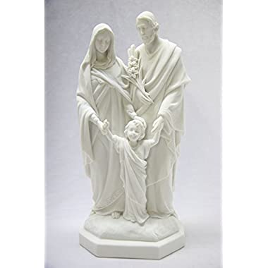 12  Holy Family Joseph Mary Jesus Catholic Religious Statue Figure By Vittoria Collection Made in Italy