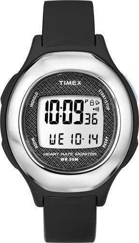 Timex Men's Smart Beltless Contact Heart Rate Monitor Daily Alarm Wrist Watch