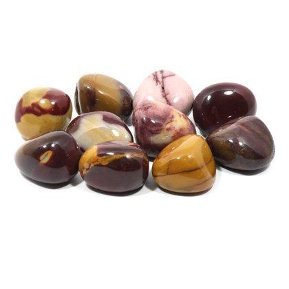 Mookaite Tumble Stone (20-25mm) - 10 Pack