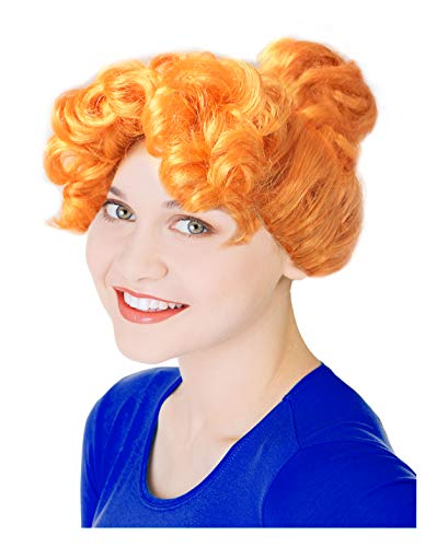Mrs Frizzle Costumes Ideas - Orange Frizzle Costume Wig Wilma Costume