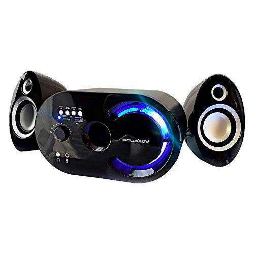 Caixa De Som Bluetooth 18w Fm Multimídia Usb / Sd / P2 / 5v