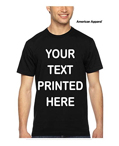 Custom T-Shirt. Personalized Tee. Add Your Own Text