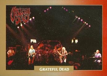 Grateful Dead trading Card (Madison Square Garden 1990) 1991 Brockum Legacy Series #7 (Square Legacy)