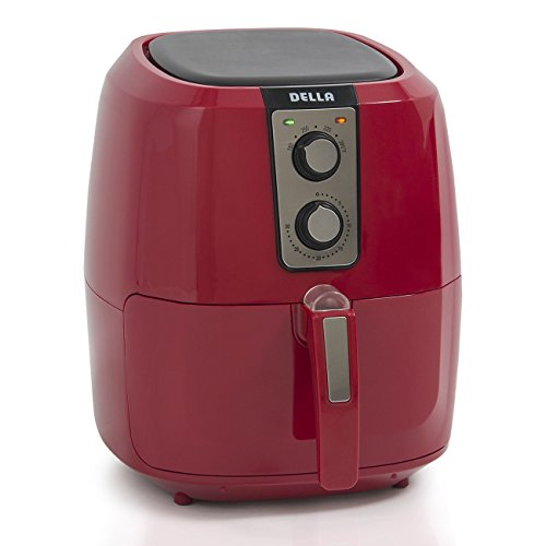 1800W 5.8 QT XL Electric Air Fryer Healthy Low-Fat Multi-Cooker Oilless Cook + FREE E - Book