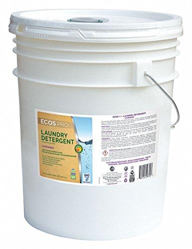 (ECOS Liquid Laundry Detergent, Lavender 2X 5 Gallon Pail, Lot of 1)