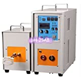 Uuni-WT 25KW 30-80KHz Dual Station High Frequency Induction Heater Furnace LH-25AB