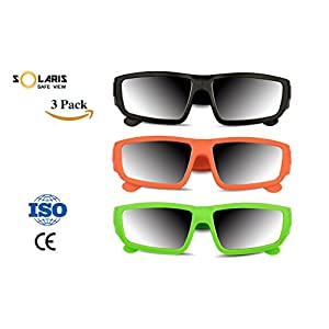Solaris Solar Eclipse Glasses | CE and ISO certified 2017 Total Solar Eclipse Safety shades with FREE EBOOK | Safe Solar Viewing