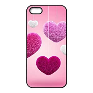 Y-M-D Love Heart Hard Shell AntiScratch Transparent Clear Back Hard Case for Iphone 5/5s Case