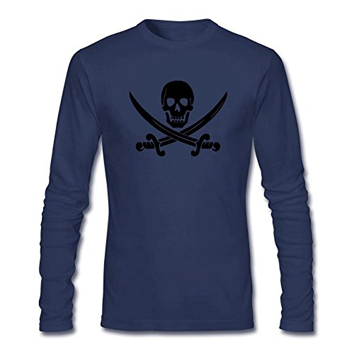 Kettyny Men's Kid's Ween Pirate Long Sleeve T Shirt