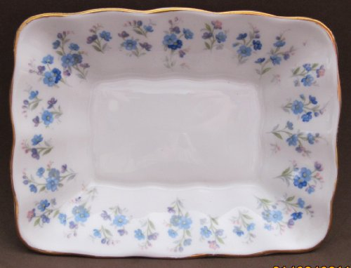[Royal Albert Bone China Candy / Trinket Dish w Gold Trim (England)] (Royal Albert Bone China Memory Lane)