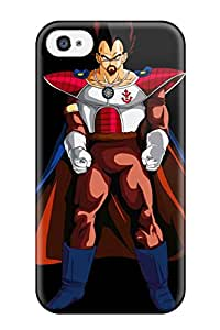Excellent Iphone 4/4s Case Tpu Cover Back Skin Protector King Vegeta