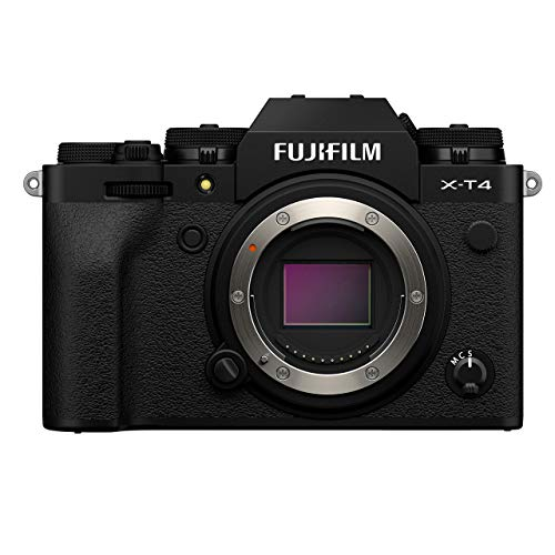 Fujifilm X-T4 Mirrorless Camera Body - Black