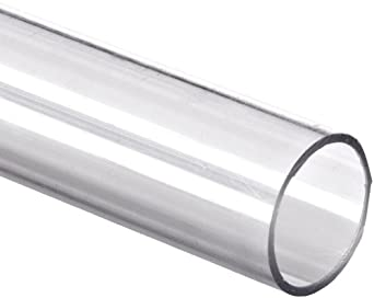 Polycarbonate Tubing 3 4 Quot Id X 1 Quot Od X 1 8 Quot Wall Clear
