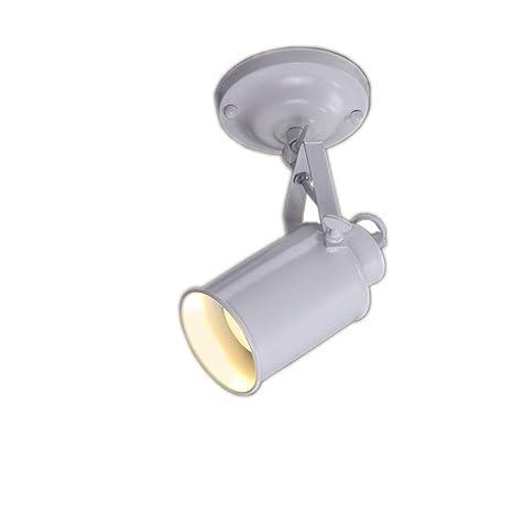 JINYU Lámpara de techo/Pared Bañadores de Pared Luz de Pared Iluminación LED Plafón con Foco Giratorios Lámpara de salón 1x Spot Bombilla E27 Bajo ...