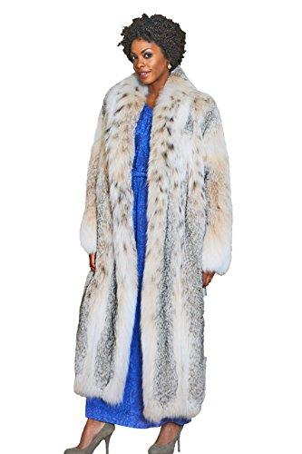 (Canadian Lynx Fur Coat(2X) )