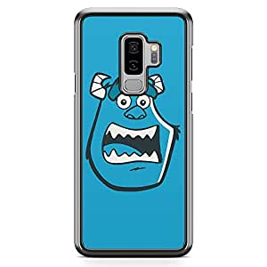 Loud Universe Face Monsters Inc Sully Samsung S9 Plus Case Cartoon Design for Children Samsung S9 Plus Cover with Transparent Edges