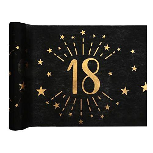 1001decotable - Camino de mesa para cumpleaños de 18 ...