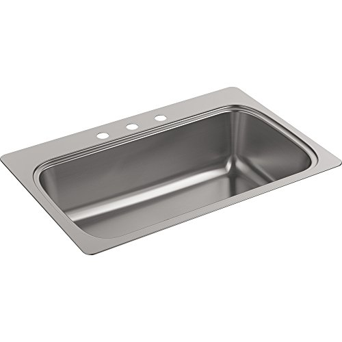 3 Hole Single Sink - 5