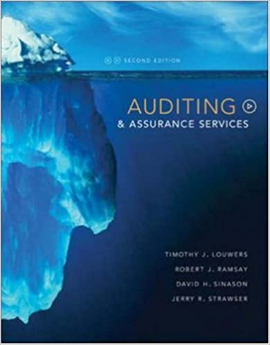 Auditing assurance services timothy louwers robert ramsay david auditing assurance services 2nd edition fandeluxe Image collections