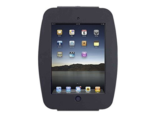 Maclocks 290SENB Secure Space Enclosure Wall Mount for iPad Pro 12.9 (Black) (Space Mount Wall)