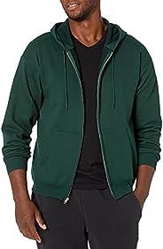 Hanes Men's Full Zip Eco Smart Fleece Ho