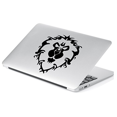 Yoonek Graphics World of Warcraft Alliance Decal Sticker for Car Window, Laptop and More. # 817