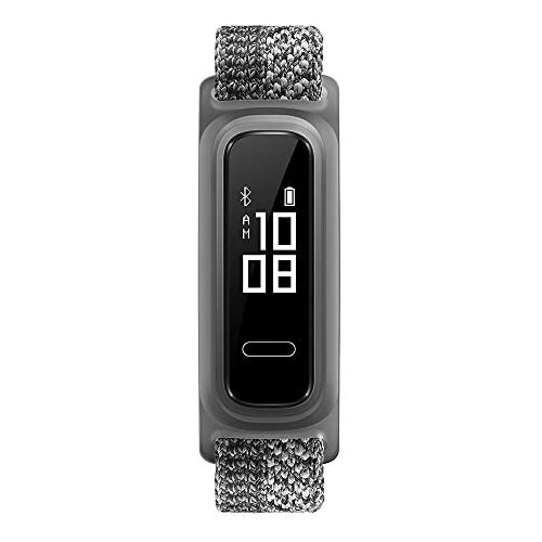 chollos oferta descuentos barato Huawei Band 4e Pulsera de actividad de elegante diseño con modo Basket 2 semanas de batería resistencia al agua 5ATM sensor de movimiento de 6 ejes indicador de calorías Misty Grey