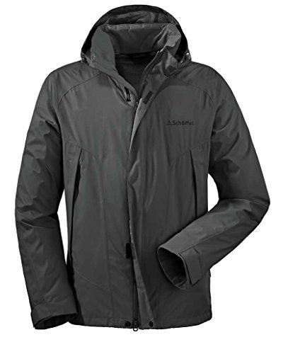 M Easy Ii Jacket grey dark Schöffel Men's EK4wgqxzW8