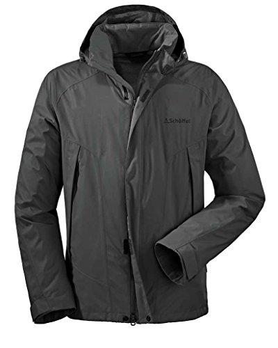 M Easy Ii Jacket grey dark Schöffel Men's EK4wgqxzW8