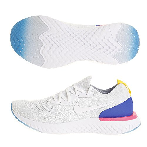 white white white Nike Nike Nike Nike De Chaussures racer Homme Blast Multicolore Comp 101 Tition pink React Running Flyknit Epic Blue qpfxfwvA