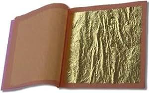 23k Edible Gold (25 sheets/Loose Type)