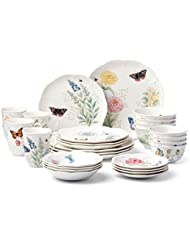Тарелка Lenox 28 Piece Butterfly Meadow