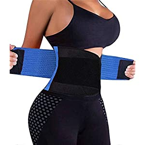 VENUZOR Waist Trainer Belt for Women – Waist Cincher Trimmer – Slimming Body Shaper Belt – Sport Girdle Belt (UP Graded)