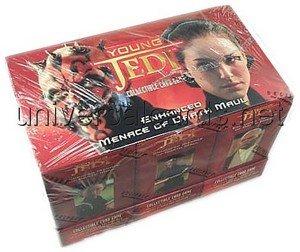Young Jedi Ccg - Star Wars Young Jedi CCG: Menace of Darth Maul Enhanced Box (30 Packs)
